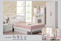white bedroom furniture - White Pink Princess Children Bedroom Furniture