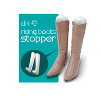 shoe stand - 200 pairs Inflatable Useful Long Boots Shoes Stand Holder Stretcher Support Shaper Plastic