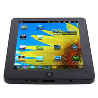 Wholesale 8 quot LCD Android Tablet PC MID WM8650 MHZ HDD GB MB WiFi Support external G Camera