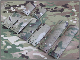 Wholesale ERGO Diamond Plate Handguard Rail Cover Set Desert Digital A TACS AT FG Mutil Cam free ship