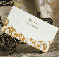 Invitation Cards thank you cards - Wedding invitations thank you card Western style wedding cards personalized invitations QH