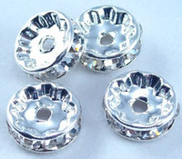 Wholesale 200Pc A Grade Crystal Diamond Spacer Beads mm Jewelry DIY