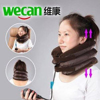 Wholesale High quality factory price New PNEUMATIC Neck Cervical Traction Brace Device For Head Shoulder Pain