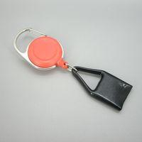 Wholesale Mini Premium Clip Lighter Leash Retractable Lighter Holder