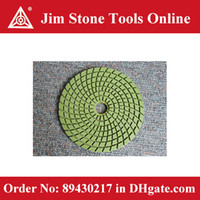Wholesale 100 mm x mm Spiral Shape Wet Diamond Polishing Pad MOQ