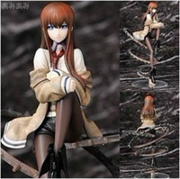 Wholesale Cool Scale Steins Gate Makise Kurisu Sexy PVC Figure Model