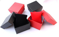 Wholesale 50PCS watches box paper Watch Box with Pillow colors Paper Gift Boxes Case For Jewelry Box Watchs