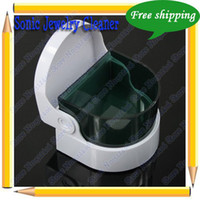 Wholesale Sonic Jewelry Cleaner Desktop Unit Clean Jewelry amp Dentures Tools