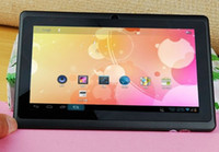 Wholesale 7 quot Q88 Allwinner A13 tablet pc capacitive multi touch Android with wifi Dual camera