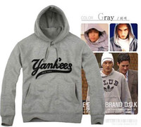 Cheap Spring / Autumn ny yankees Best Street Fashion Fleece yankees hoodie