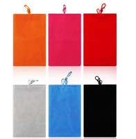 Wholesale 3 inch Soft Sock Wool Pouche Bag Case Sleeve Cover for iphone S Cases for the iphone C