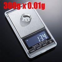Wholesale 300g g Electronic LCD GRAM Digital Porket Weighing Jewelry Diamond Balance Weight Scale Waage