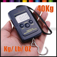 Cheap Free Shipping Portable Mini Electronic Digital Scale 40kg x 20g Hanging Fishing Hook Pocket Weighing