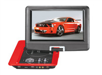 Wholesale 9 inches color John TFT LCD DVD player with TV Player USB reader can be rotation