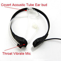 Wholesale New Throat Mic Headset for MOTOROLA Radio T6200 Walkie talkie two way radio C0015A Alishow