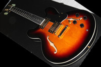 Wholesale best Factory Musical Instruments New Arrival electric Guitar in best MS sunburst