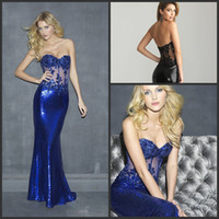 Reference Images Sweep Train sequin Wow Factor Free Shipping Illusion Sexy Party Dress Pageant Ball Gown Prom Dress With Sequin&Lace