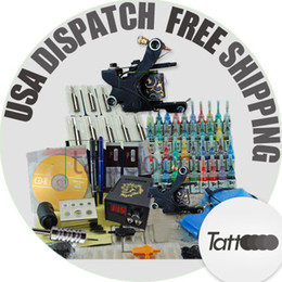 Wholesale Starter Tattoo Kit Needles Inks Machine Gun D71 GIFT OZ ink