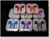 Wholesale Earphone mm with Mic amp Volume Remote Control Earpods Earbuds for Iphone Ipad Mini Ipod Nano th