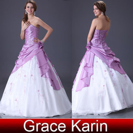 Wholesale High Quality Graceful Ball Gown Strapless Dress For Wedding Evening Prom CL2519