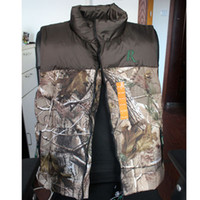 Wholesale 5pcs New Remington Realtree Hardwoods Warming Hunting Vest For Men Winter Wear