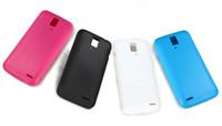 ascend d quad xl - Black soft skin cover case for Huawei U9510 Ascend D quad XL screen protector