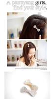 Wholesale 5 Elegant Lovely Full Dazzling Crystal Rhinestone Bowknot Bow Hair Clip Pin