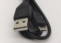 Universal   1M BLACK Micro USB 5 pin 2.0 Data Sync Cable Charger Cord for Cell Phone Tablet MP3 MP4 Video
