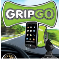 Universal Mountings all cars GripGo Windshield Universal Car mobile phone GPS Mount holder 360 Degree rotating