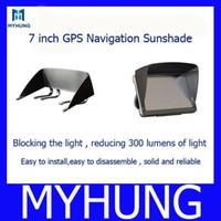 Wholesale 7 inch navigation sunshade gps navigation Sun shade hood sun hats