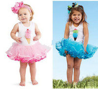 baby blooms - girl blooming ice cream ballet dress baby tutu ballet dress summer tulle summer party tank dress