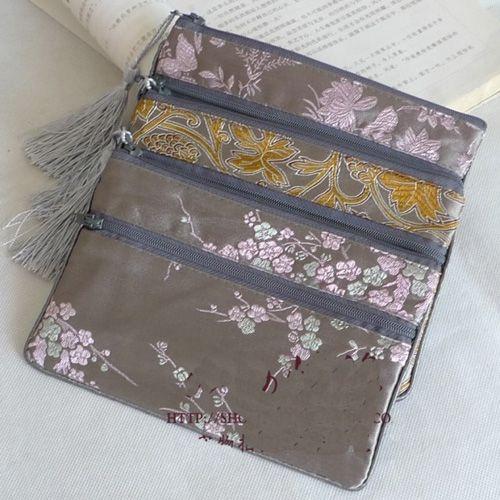 Wholesale Cheap Personalized Makeup Bags Large Double Zip Tassel ...