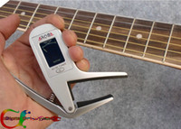 Wholesale Accurate Acoustic Guitar Chromatic Tuner electric guitars Transposition clamp Capo