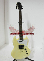 Solid Body 6 Strings Mahogany best chinese guitar custom sg cream colour electric guitar China guitar