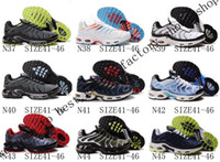 Wholesale Original quality hot shoes pairs tn shoes Men s Athletics sneakers air spring running shoes