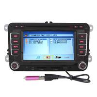 Wholesale 6 Inch Car CD DVD Player Radio GPS Bluetooth Ipod F VW Golf Jetta EOS Caddy Polo Touran