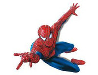 Wholesale spiderman new wall decals nursery decor cm PVC cartoon wallpaper wall stickers cm