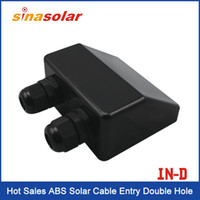 Wholesale Hot Sales ABS Solar Cable Entry Double Hole