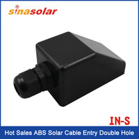 Wholesale Hot Sales ABS Solar Cable Entry Single Hole
