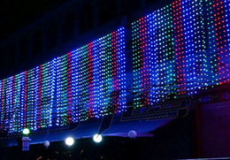 Wedding background LED lights curtain Icicle Christmas lamp festival led lamps IP44