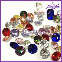 Wholesale MIXED COLORS mm Crystal Diamond beads round fancy stone jewelry accessories come to get OFF