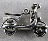 Wholesale 58pcs Tibetan Silver Electric Motor Car Charms Pendants Jewelry Findings Jewelry DIY