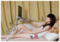 For Apple adjustable laptop stands - DHL EMS LAPTOP STAND FOR BED AND SOFA TO FREE YOUR HANDS OR LEGS TO BE LEISURE H439