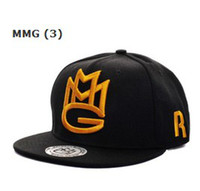 Wholesale New Hot Sale Mix Order Many Designs MMG Snapback Hats Snap Back Hat Snapbacks Caps Cap A