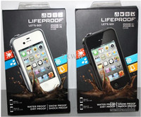 Wholesale waterproof shockproof Case for iphone s Life Water Dirt Proof AAA Quality DHL shipping