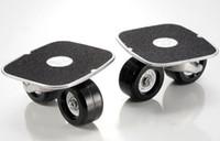 Wholesale Skateboard pair Drift Skates Drift freeline Skate Super PU wheel Black White