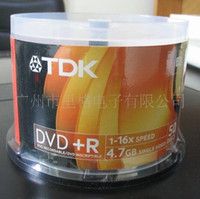 Wholesale New TDK X DVD Media DVD R Blank Discs Printable Record G Min One Roll Discs