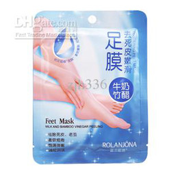 Wholesale bags Crystal feet mask Exfoliating Scrub Mask Whitening Feet Mask