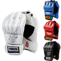 Wholesale Half Finger Boxing Gloves Sanda Fighting Sandbag Gloves Muay UFC MMA