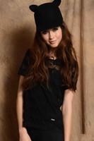 Wholesale 5Pcs Basin Hat Cat Ear Hat Fashion Women s And Men s Caps FFF